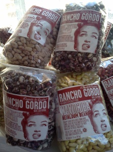 hill of Rancho Gordo beans