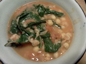 chickpea swiss chard soup