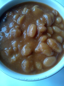 baked beans version one