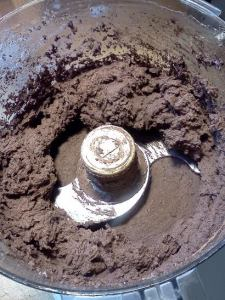 black bean cupcake batter