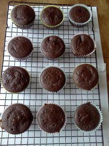 black bean cupcakes